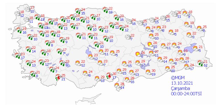 Son dakika Meteoroloji raporu yayımladı Çarşamba gününden itibaren değişiyor