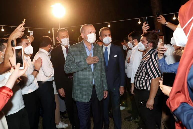 Son dakika: Cumhurbaşkanı Erdoğan: Gençlerimizle aramıza kimseyi sokmayız