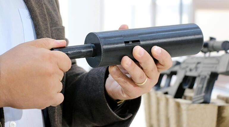 Ateşli silahlar için ses ve sarsıntı düzeyi düşük susturucugeliştirildi