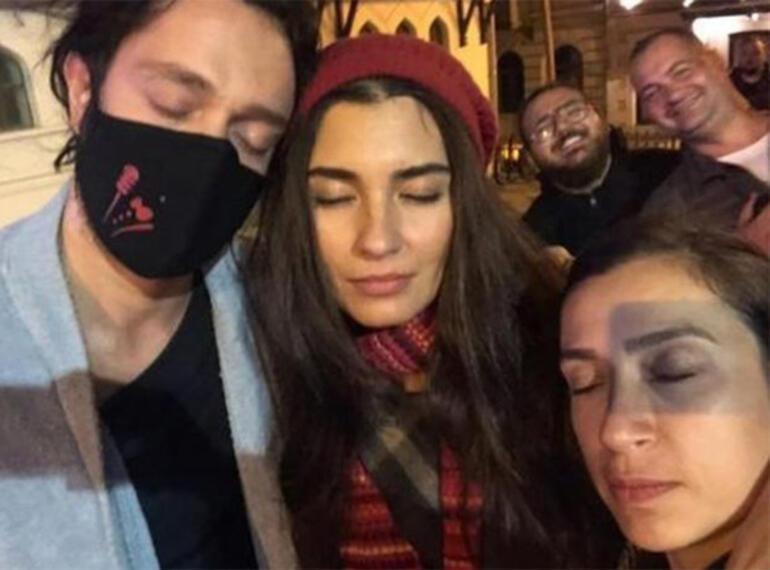 Her fırsatta aşk iddiasını yalanlayan Tuba Büyüküstün ve Murat Bozdan yeni pozlar