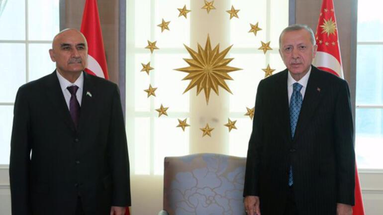 Cumhurbaşkanı Erdoğan, Endonezya Dışişleri Bakanı ve Tacikistan Meclis Başkanını kabul etti