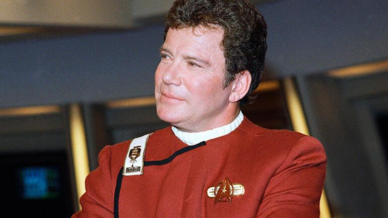 Son dakika: Filmdi gerçek oldu: Star Trekin Kaptan Kirkü William Shatner uzaya gitti