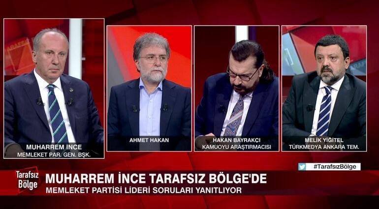 Son dakika: Muharrem İnceden CNN TÜRKte flaş açıklamalar