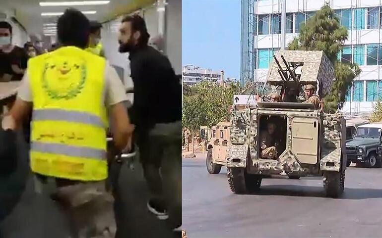 Lübnanda göstericilere ateş açıldı Ordu çağrı yaptı