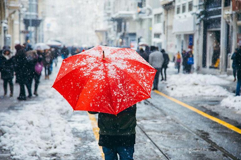 İstanbul için dikkat çeken açıklama: Daha fazla kar yağışı görülecek