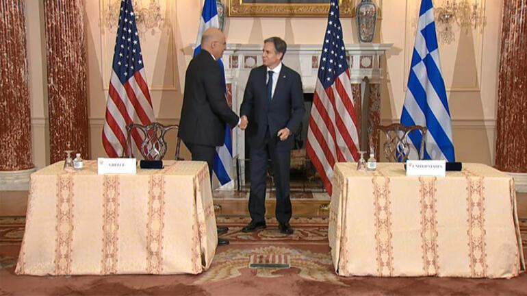 Son dakika... ABD ve Yunanistandan savunma anlaşması