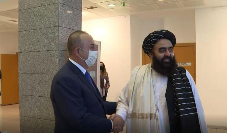 Son dakika Taliban heyeti Ankarada... Bakan Çavuşoğlundan ilk açıklama