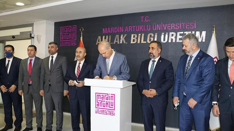 AK Partili Kurtulmuş: Üniversitelerin kalitesinin yükselmesi ana hedefimiz