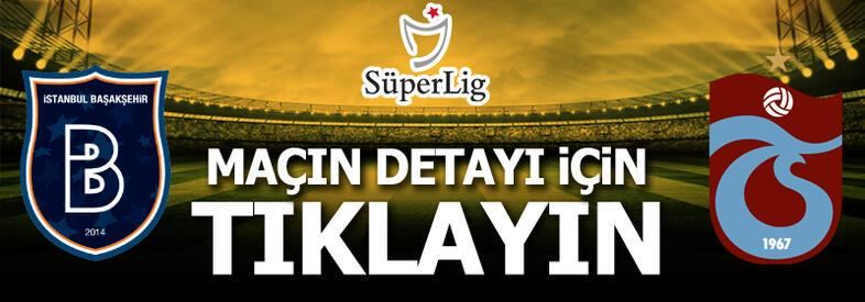 Medipol Başakşehir-Trabzonspor: 1-2