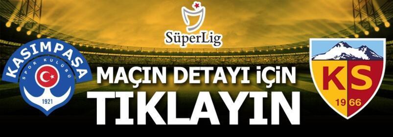 Kasımpaşa-Kayserispor: 0-1