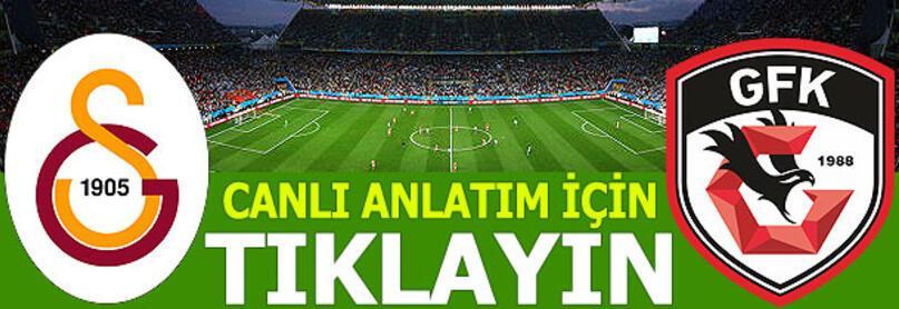 Galatasaraydan sürpriz 11 Gaziantep FK karşısında...
