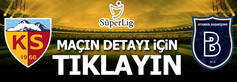 Kayserispor - Başakşehir: 2-0
