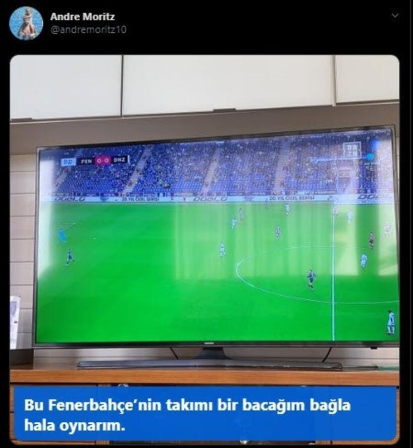 Moritzten şok sözler Bu Fenerbahçede oynarım