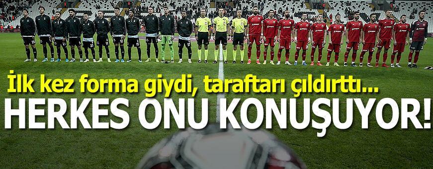 Herkes onu konuşuyor! Beşiktaş'ın genç oyuncusu...