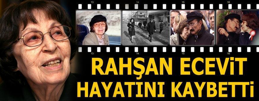 Son dakika: Rahşan Ecevit 97 yaşında vefat etti! Sağlık Bakanı Koca'dan açıklama
