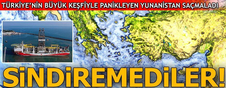 Sindiremediler! Panikleyen Yunanistan saçmaladı...