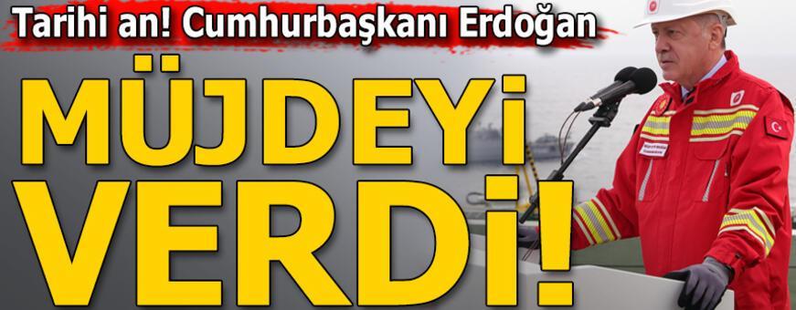 Tarihi gün! Erdoğan müjdeyi açıkladı