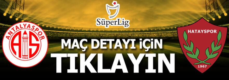 Antalyaspor - Hatayspor: 0-6