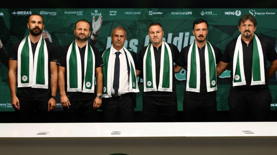 Son dakika | Konyasporda İsmail Kartal imzaladı Serdar Kesimal...
