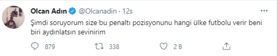 Son dakika haberi - Fenerbahçe - Erzurumspor maçında Olcan Adından olay tepki